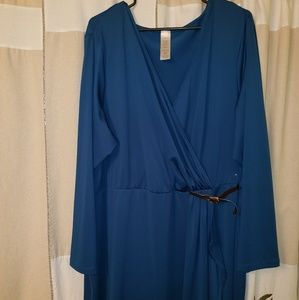 Teal Avon dress